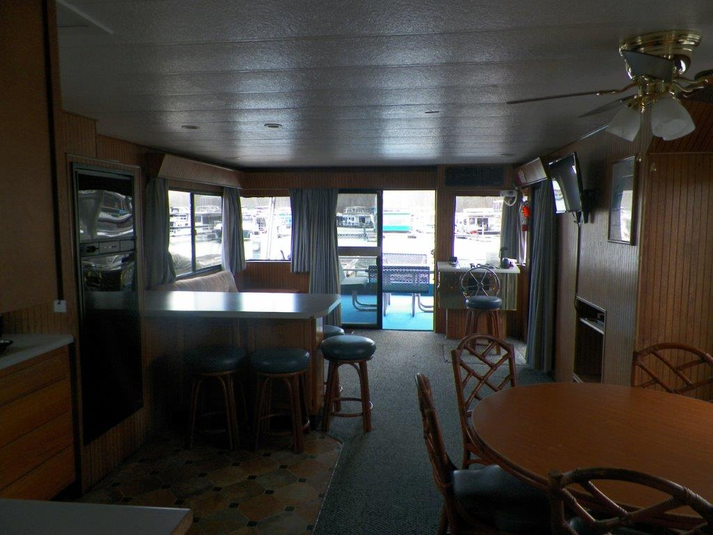 Houseboat Interior