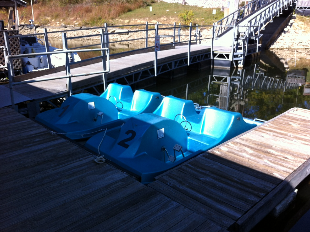Rental Pedal Boats